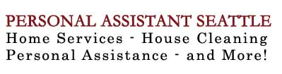 Personal Assistant Seattle Home Services House Cleaning Personal Assistance